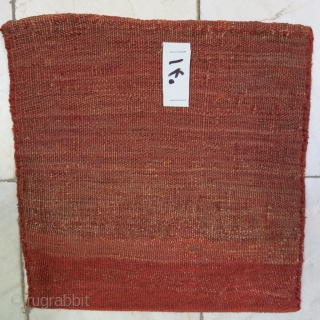 Bijar Chanteh Soumac wool on wool natural color size: 23 x 24 price:POR