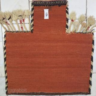 Antique Afshari Salt bag soumac wool on wool natural color age: the last quarter of 19th century size:56 x 50 price:POR
