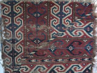 A very old Tourkmen feragment size: 75 x 52 price:POR