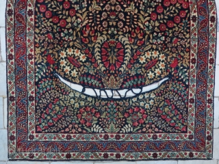 A beautiful antique Yazd horse cover size:112 x 95 price:POR