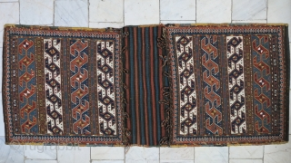 Shahsavan Saddlebag Soumac size:125 x 53 price: SOLD