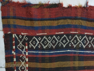 A Caucasian Gilij technique Kilim wool on wool size:180 x 126 price:POR