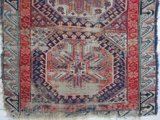 A very old Zeykhoor rug wool on wool size:146 x 94 price:POR