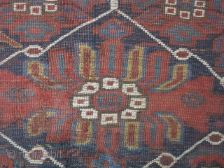 A very old fragment Baharlou wool on wool size:150 x 124 price:POR