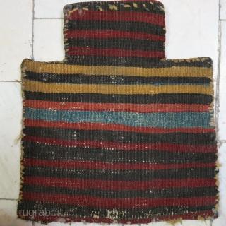 A Saveh Shahsavan Saltbag soumac size:35 x 32 price:POR