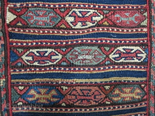 Shahsavan Toubreh soumac wool on wool it was repaired size:34 x 32 price:POR