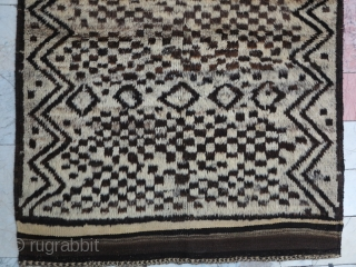 Jiroft Gabbeh wool on wool with great design size:191 x 135 price:POR
