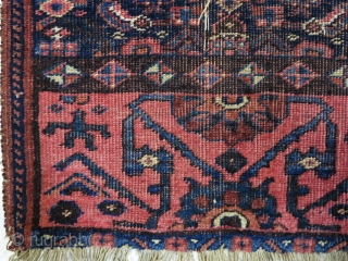 Garrous Bijar ornak ( vagireh ) wool on wool size:57 x 56 cm age: about 130 years old price:POR