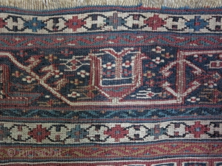 A fragment Bakhtiyari Saddlebag face Soumac size: 34 x 60 price: POR SOLD