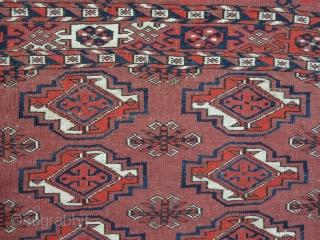 Turkmen chuval wool on wool size: 65 x 104 cm price: POR