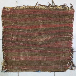 Baluch Chante wool on wool natural color size:28 x 29 price :POR