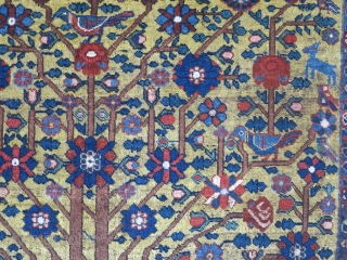 A beautiful Afshar and nice color but with great Neyriz design wool on wool  size: 194 x 162 price: POR SOLD
