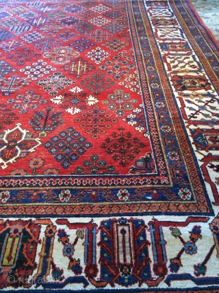 Antique Josheghan Persian Rug