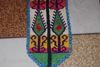 a beautiful hand made embroidery collar for the uzbek chapan. the size is 108 cm. for more informations, please contact me