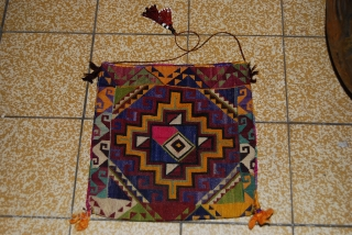 a beautiful turkmen hand made embroidery money beg. for more informations,PLEASE CONTACT ME