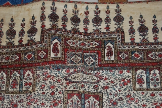 A very old kalam kar from iran in a very good condition.