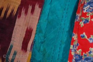 a beautiful ikat chapan from uzbekistan.