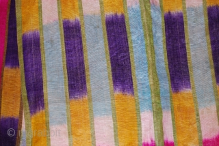 a fabulous ikat robe in a very good condition.