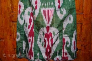 a fabulous rare Green chapan from uzbekistan.