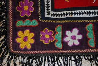 a beautiful hand made embroidery from uzbekistan.