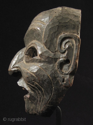Wood mask, Nepal/Tibet.