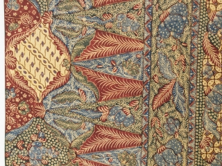 Batik selendang (shawl or scarf)