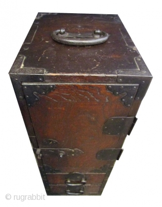 Antique Japanese Mikuni Gyosho Bako (Peddler's Box)