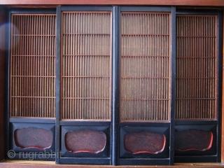 Antique Japanese Kamidana Tansu 2 Section Keyaki  An antique Japanese 2 Section Kamidana Tansu made of Keyaki (Zelkova), Hinoki (Cypress) and Suginoki (Cryptomeria) woods. The top section was used as a Shinto shrine  ...