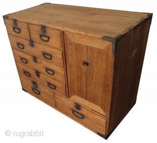 Antique Japanese Small Kiri Tansu