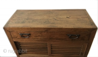 Antique Japanese Choba Tansu