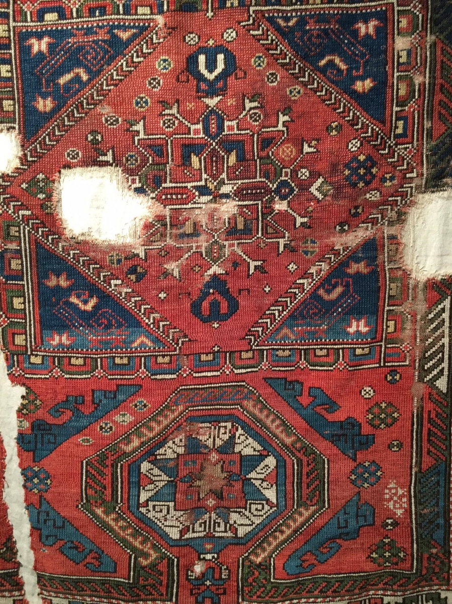 Double Re-entrant Rug Sotheby's London: Nov 7, 2017 Rugs and Carpets including pieces from the Christopher Alexander Collection