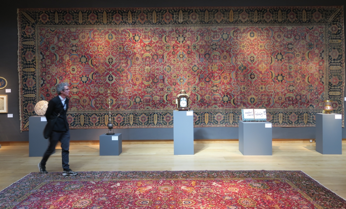 Isfahan Carpet: Christie's Art of the Islamic and Indian Worlds including Oriental Rugs and Carpets: Isfahan carpet