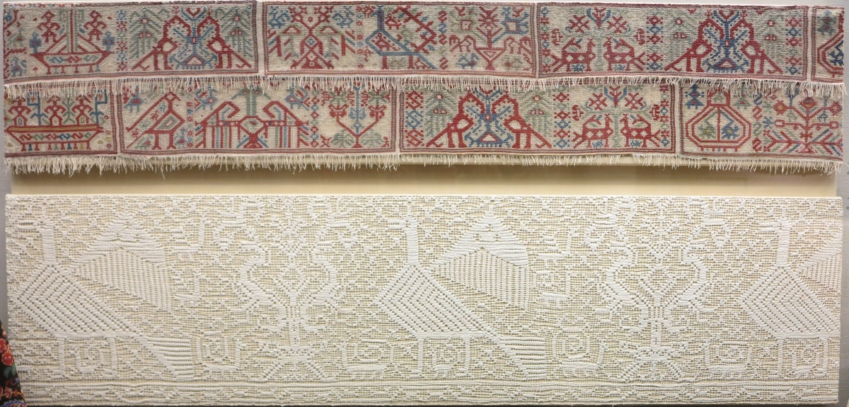 textiles from the island of Anaphi, 17th-18th century, Benaki Museum