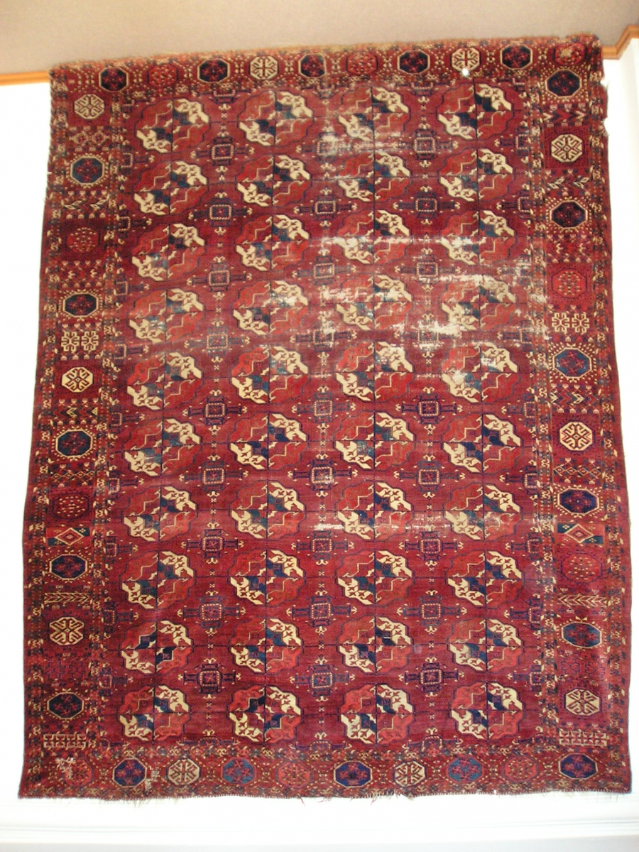 Tekke Turkmen main carpet