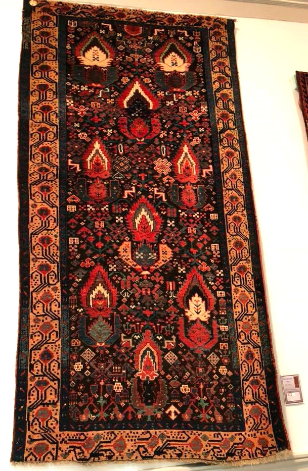 Northwest Persian Kurdish Sauj Bulagh rug ICOC Washington DC 2018