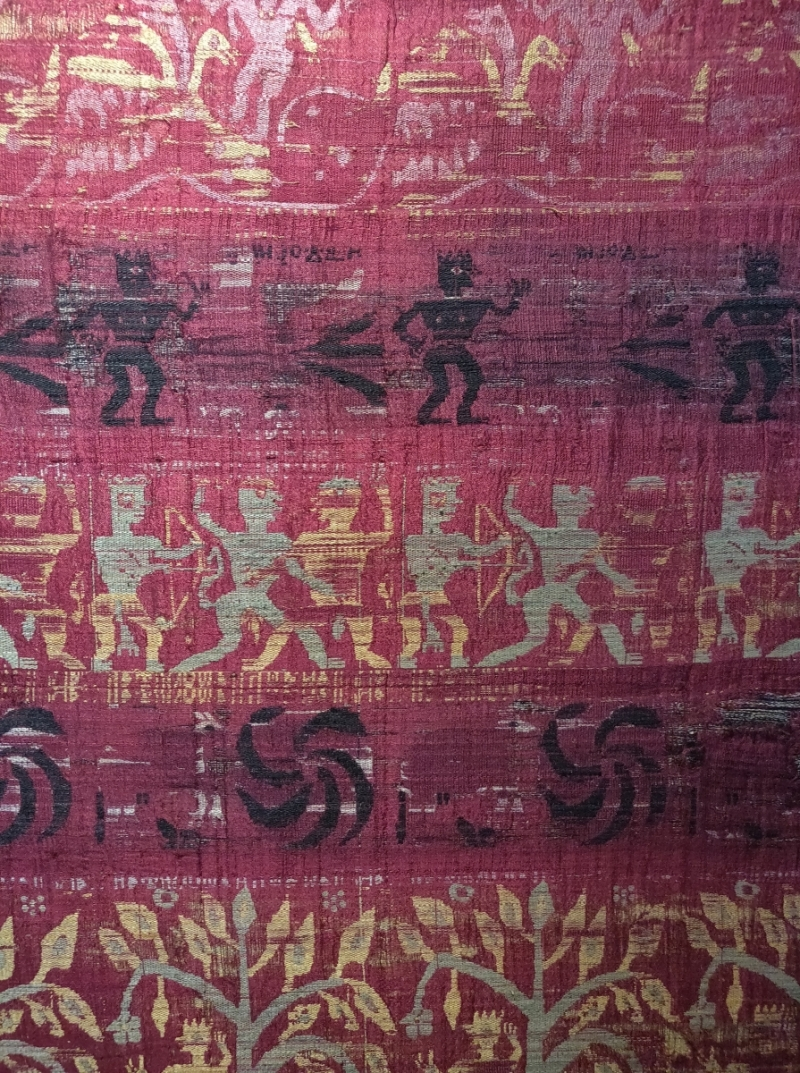 Francesca Galloway, Assam Indian textile