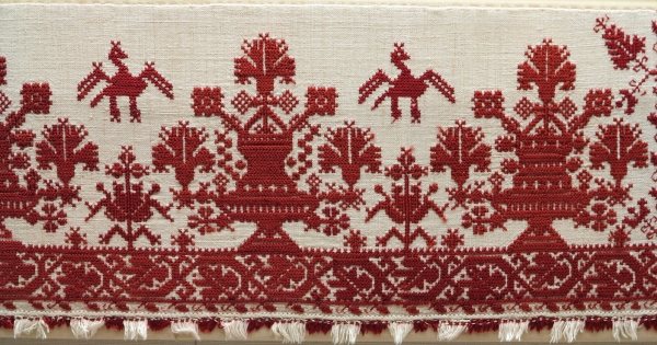 Cretan embroideries, 18th/19th century, Benaki Museum
