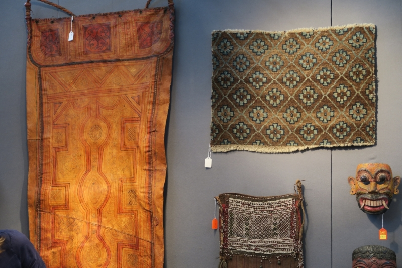 San Francisco Textile and Tribal Art Show 2018, Thomas Murray