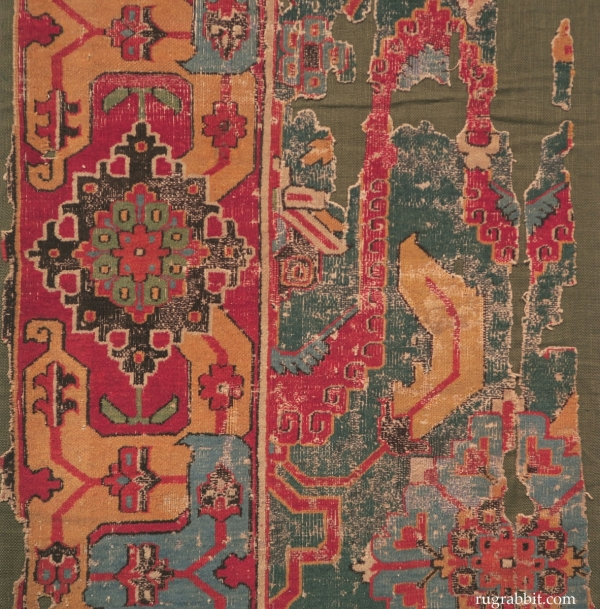 Rugs from the Christopher Alexander Collection at Sotheby's: Khorosan carpet fragment