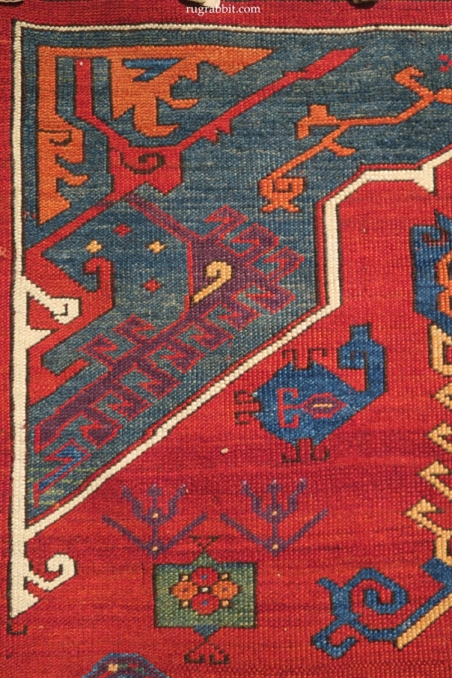 Rugs from the Christopher Alexander Collection at Sotheby's: cut and shut central Anatolian  rug fragments