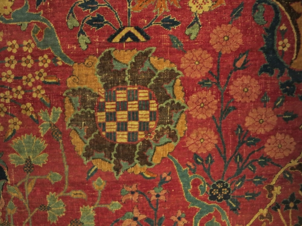 Vase Carpet, Victoria and Albert Museum, London