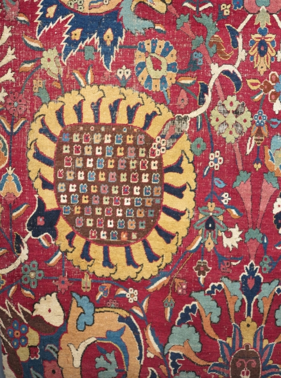 The Alice De Rothschild Vase Carpets, lot 100