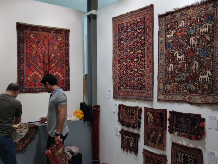 Persian tribal rugs with Sadegh Memarian