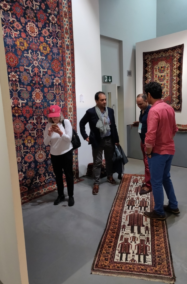 Sadegh Memarian at Hali Fair 2019, London