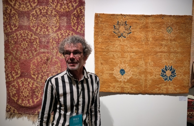 Clive Roger's Tibetan khaden and Alberto Levi's Tiffany Carpet fragment