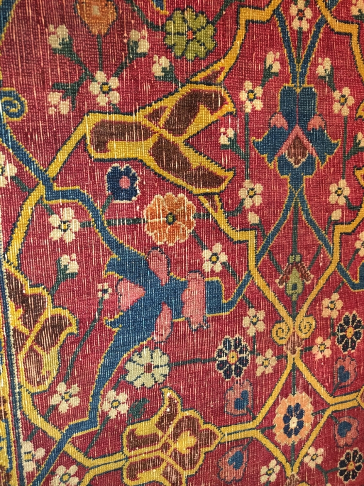 Kerman vase carpet, 17th century with Amin Motamedi