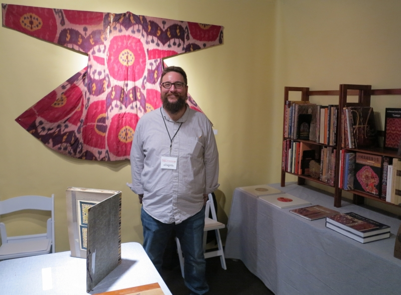 San Francisco Tribal and Textile Art Show: Weslet Marquand, rugbooks.com