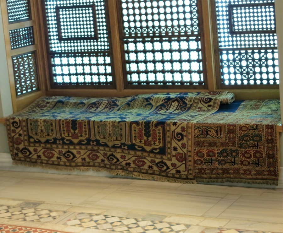 Benaki Museum of Islamic Art, Athens Rugs in situ