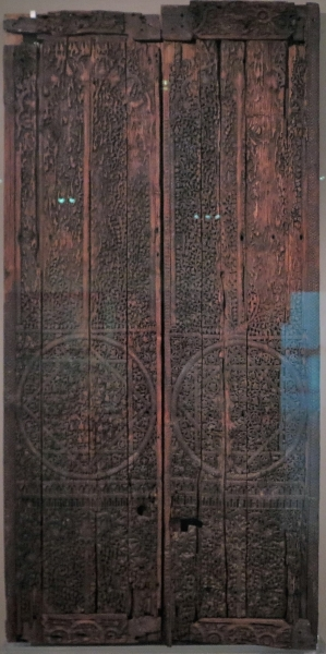 Wooden Doors, Baghdad, 8th-9th century, Benaki Museum of Islamic Art, Athens