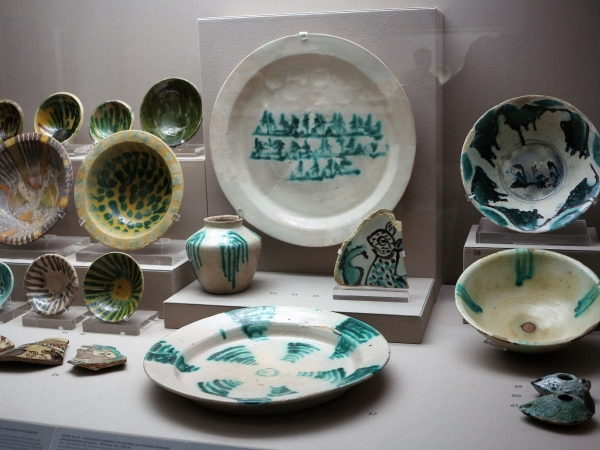 Islamic Persian Ceramics, mostly Nishapur, Benaki Museum of Islamic Art, Athens